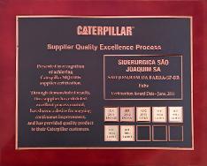 Certificado Caterpillar